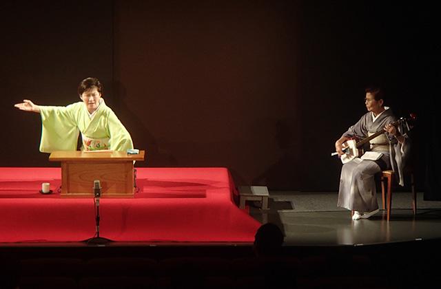 玉川奈々福さんと沢村豊子師匠