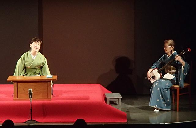 玉川奈々福さん&沢村豊子師匠