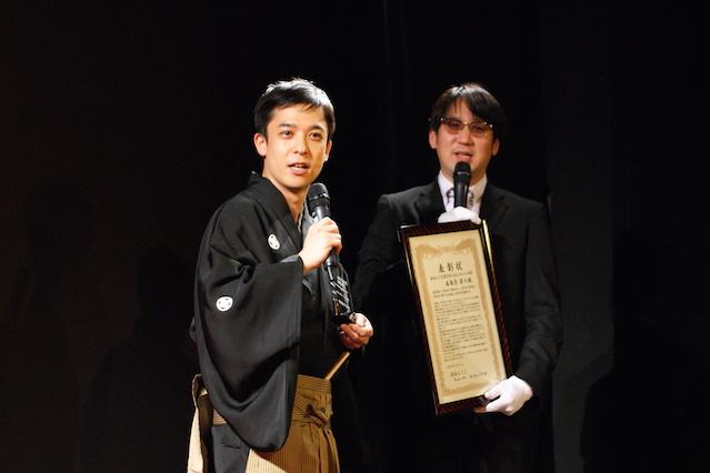 2016年渋谷らくご大賞 授賞式 春風亭昇々さん