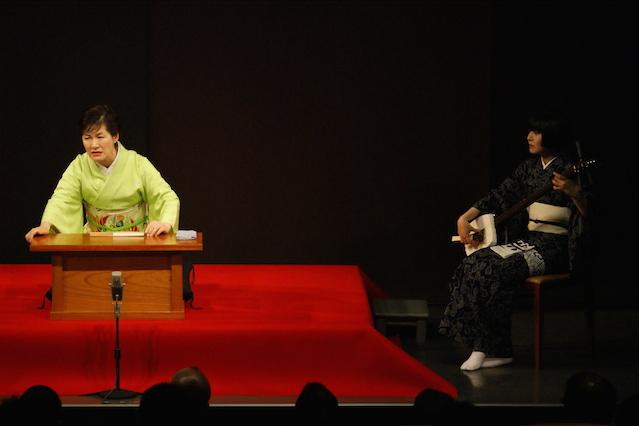 玉川奈々福さんと沢村美舟さん