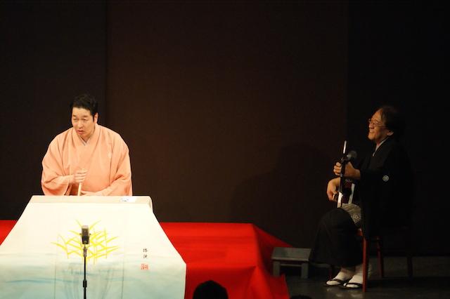 玉川太福さん・伊丹明師匠