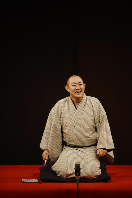 三笑亭夢丸師匠
